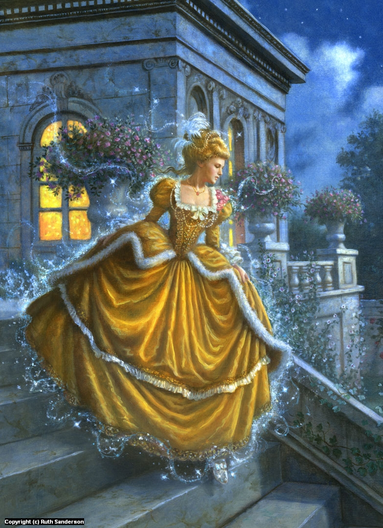 Cinderella Artwork by Ruth Sanderson