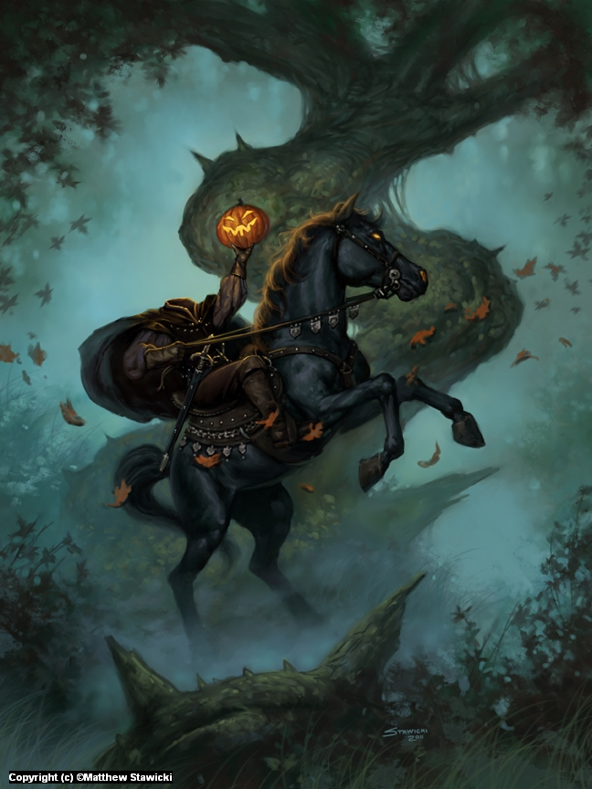 Headless Rider Artwork by Matthew Stawicki
