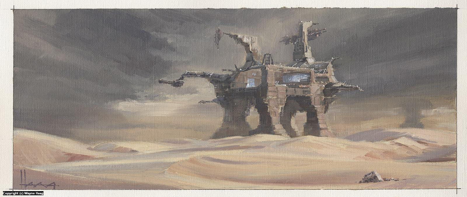 Outpost Artwork by Wayne Haag