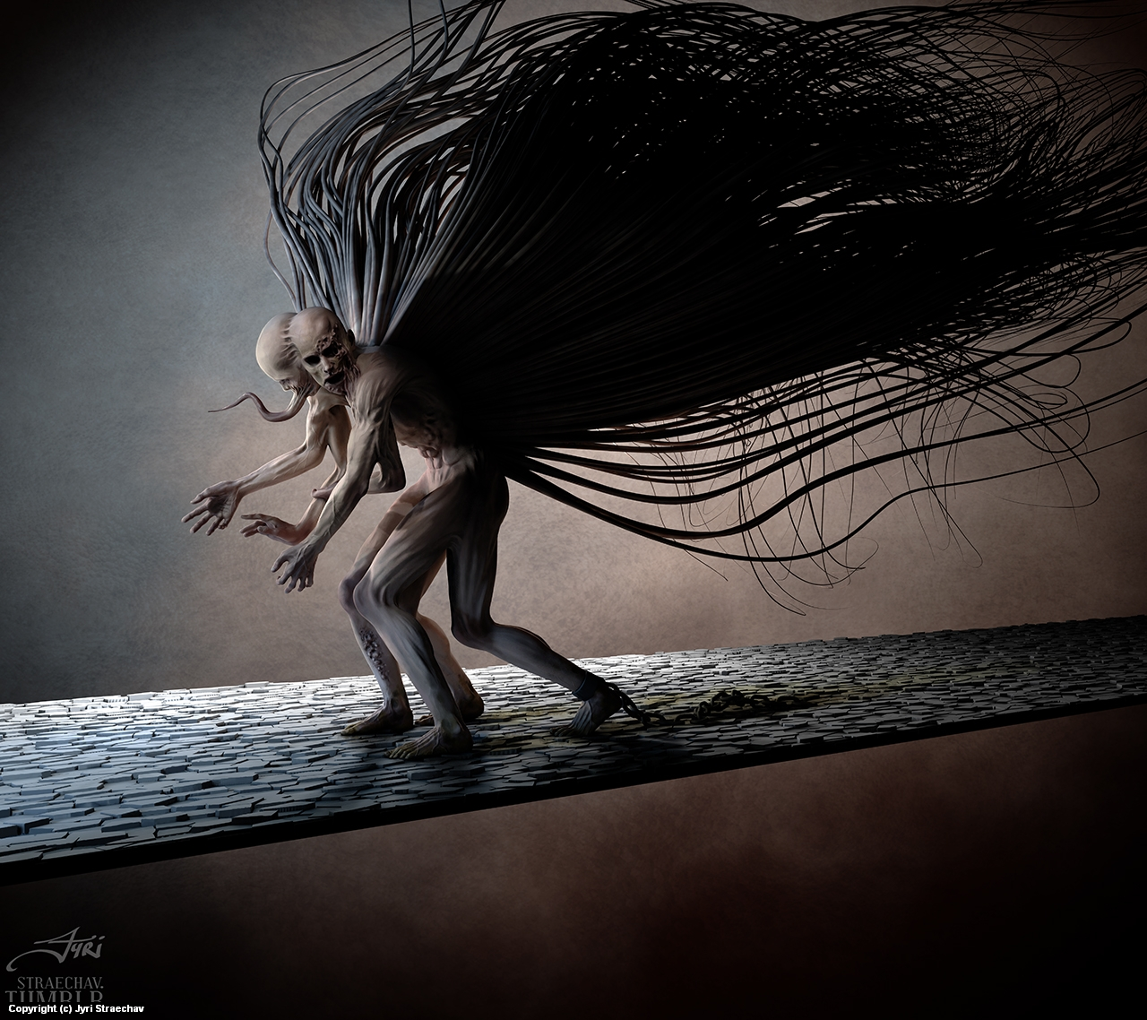 The Wretched Artwork by Jyri Straechav