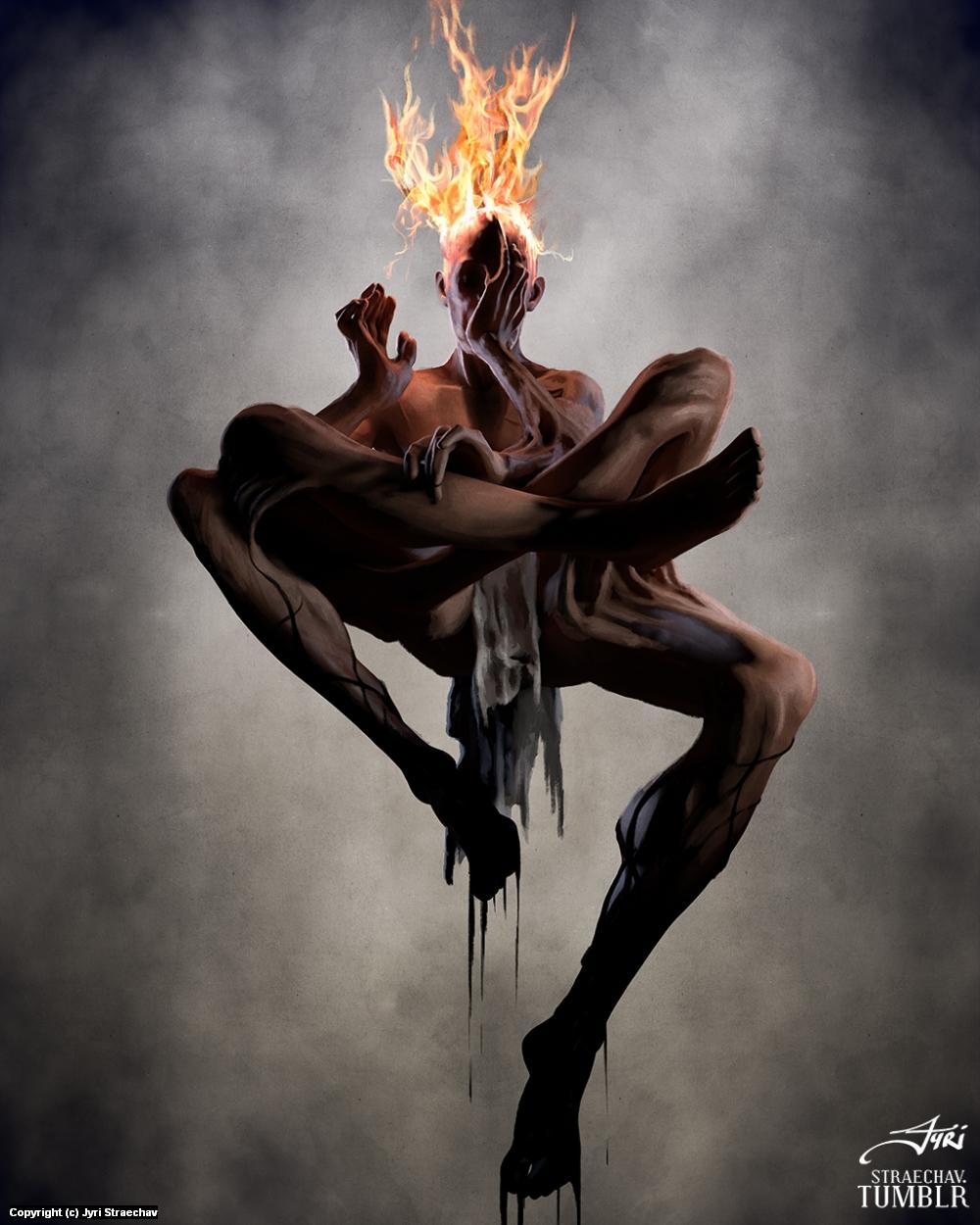 The Seer Artwork by Jyri Straechav