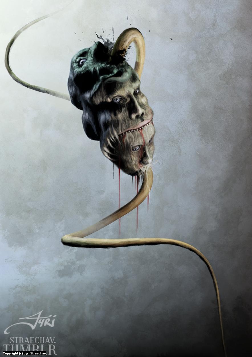Bulimia Artwork by Jyri Straechav