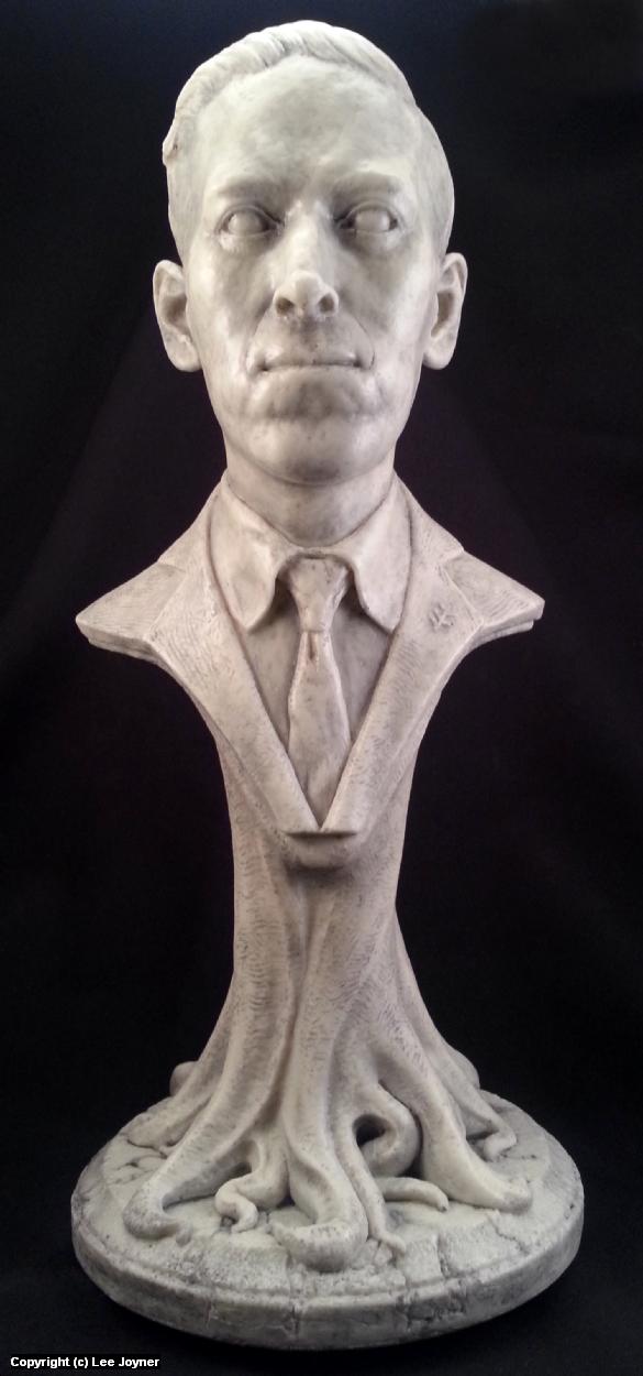 H.P. Lovecraft Bust Artwork by Lee Joyner