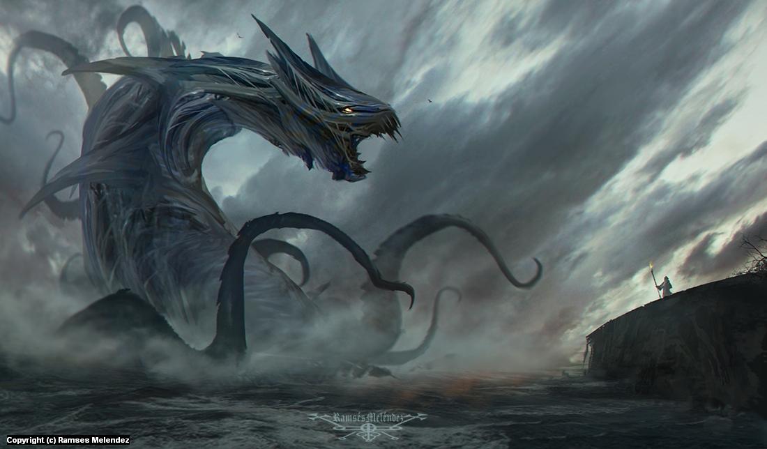 Leviathan Artwork by Ramses Melendez