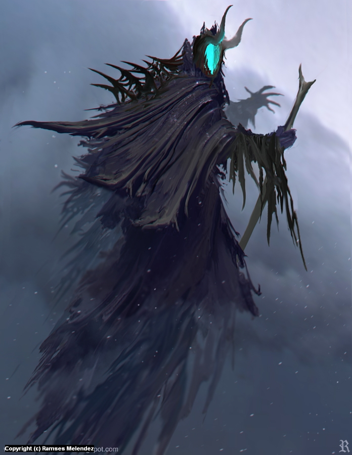 Evil Lord III Artwork by Ramses Melendez