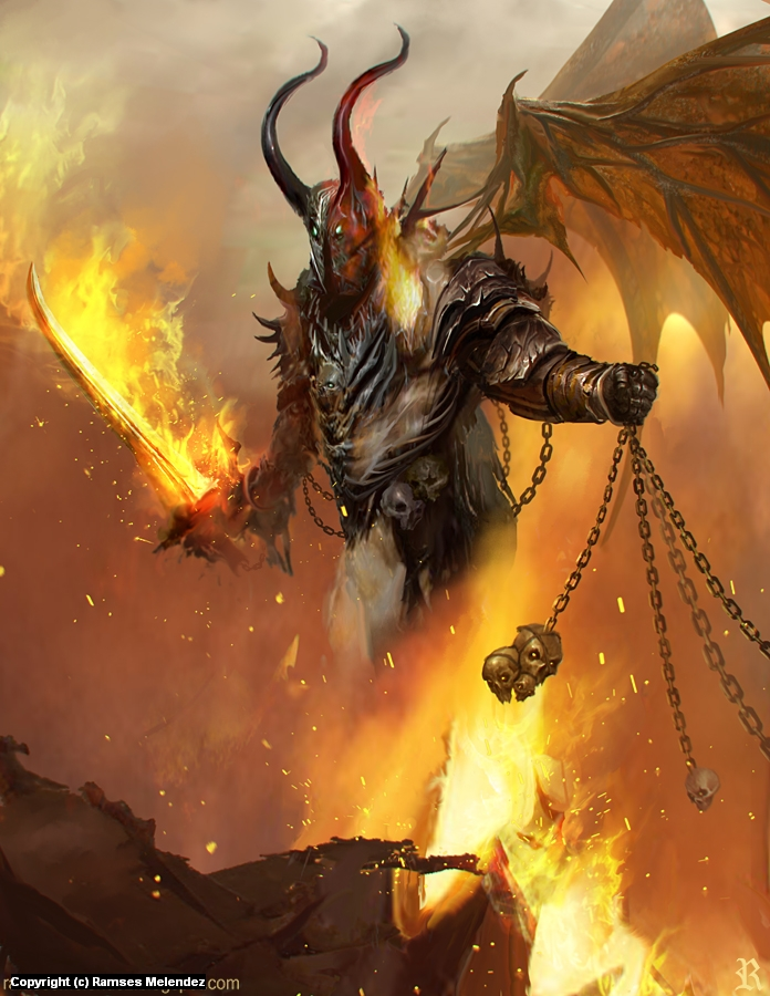 Demon Linch Artwork by Ramses Melendez