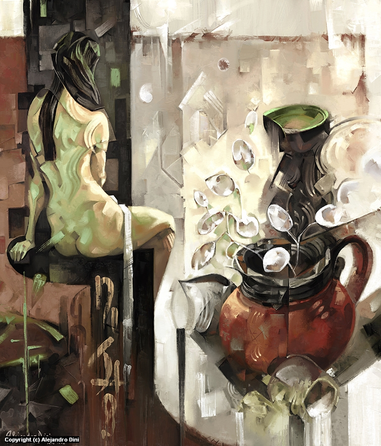 Distill Life Artwork by Alejandro Dini