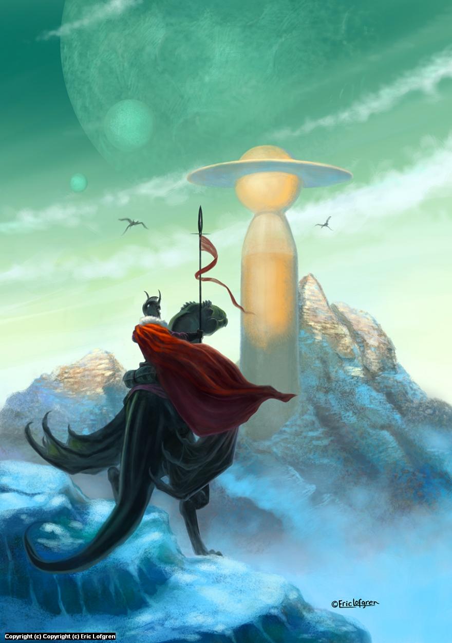 Alien Worlds Artwork by Eric Lofgren
