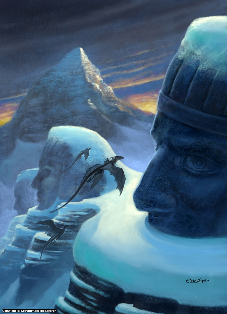 Journey to Kadath Artwork by Eric Lofgren