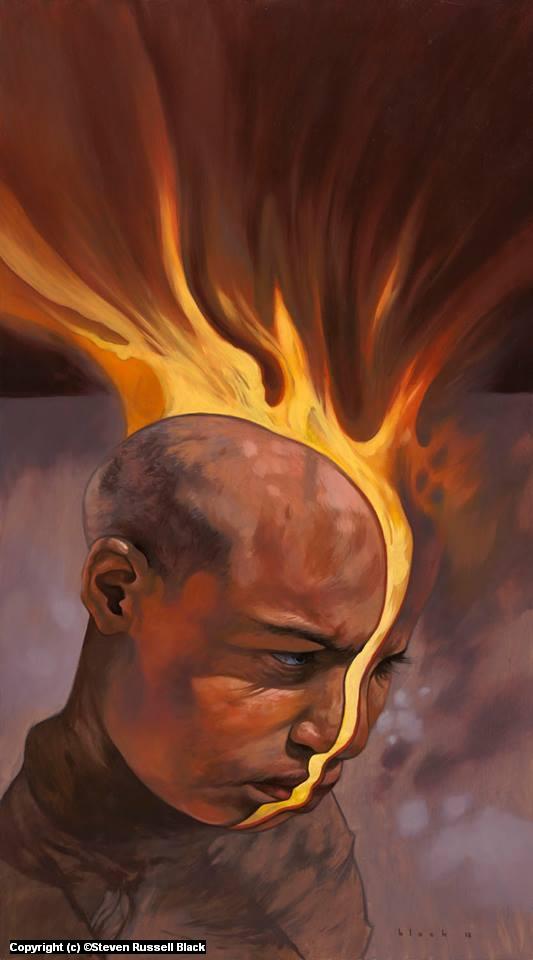 The Fire Inside Artwork by Steven Black