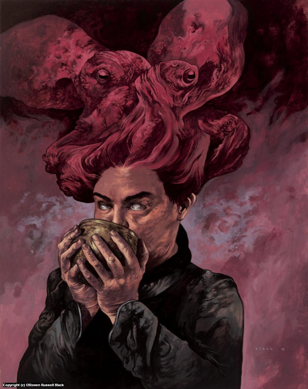 Unholy Communion Artwork by Steven Black