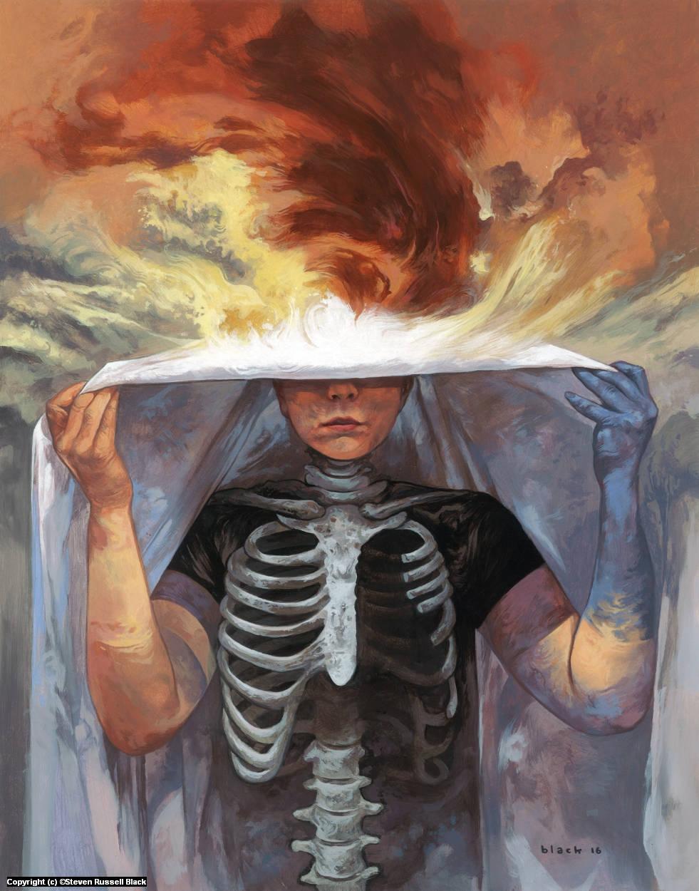 Walker Between Worlds Kingdom of Nothing Artwork by Steven Black