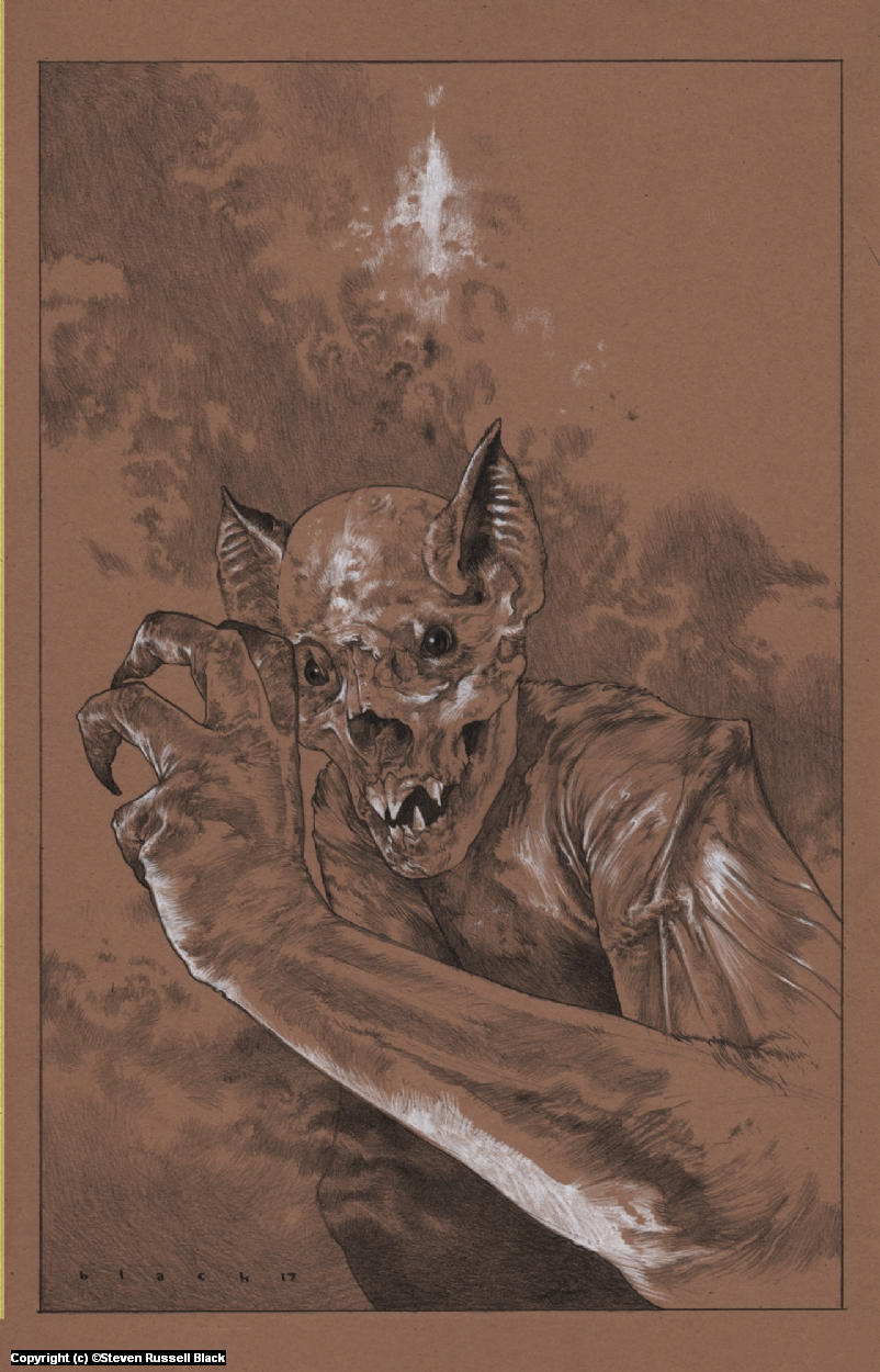 Homo Chiroptera Artwork by Steven Black