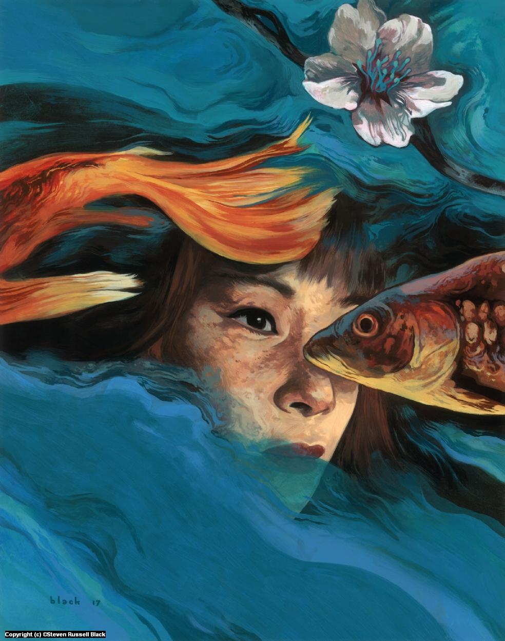 Week 2 of 52 /  Milieu Liu  Artwork by Steven Black