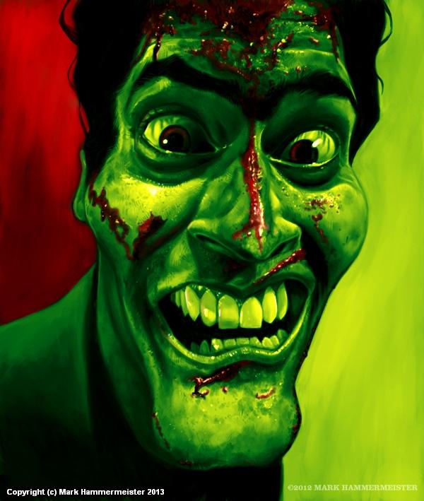 The Evil Dead Artwork by Mark Hammermeister