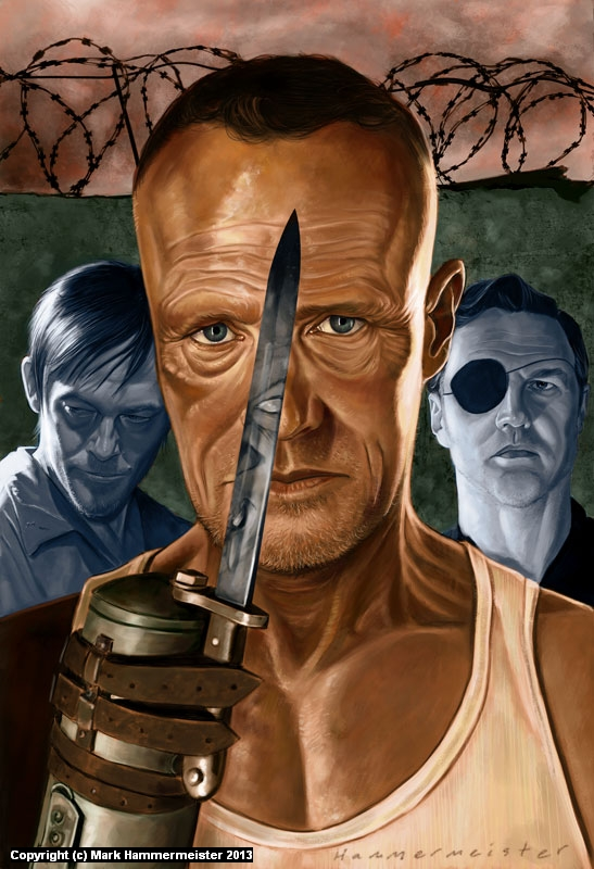Merle Dixon Artwork by Mark Hammermeister