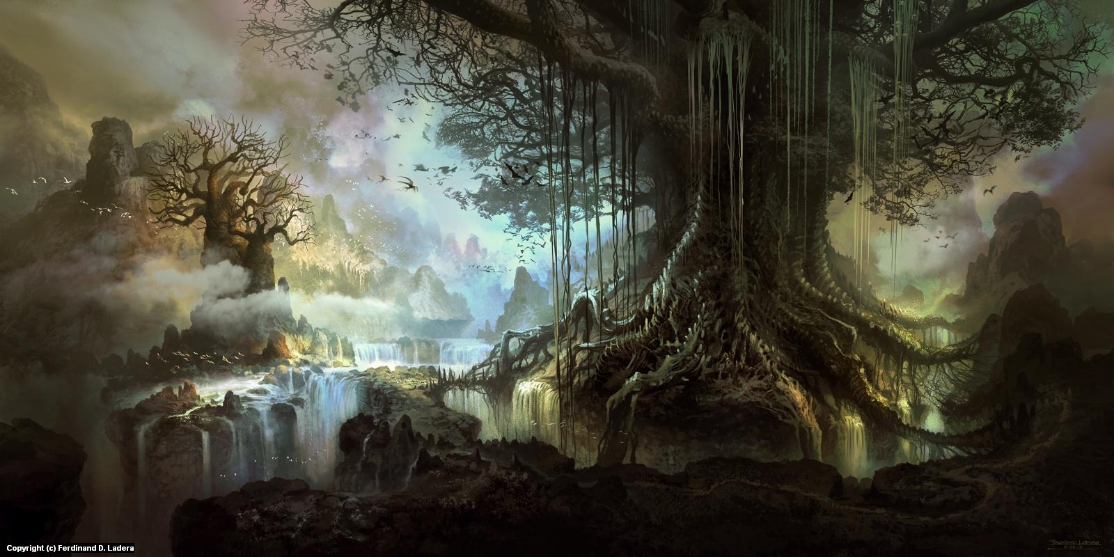 Tree of life Artwork by Ferdinand Ladera