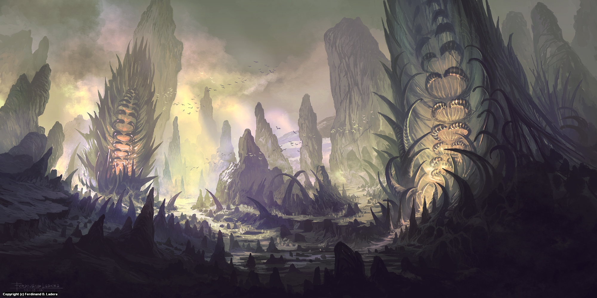 Mt. Ightmor Artwork by Ferdinand Ladera
