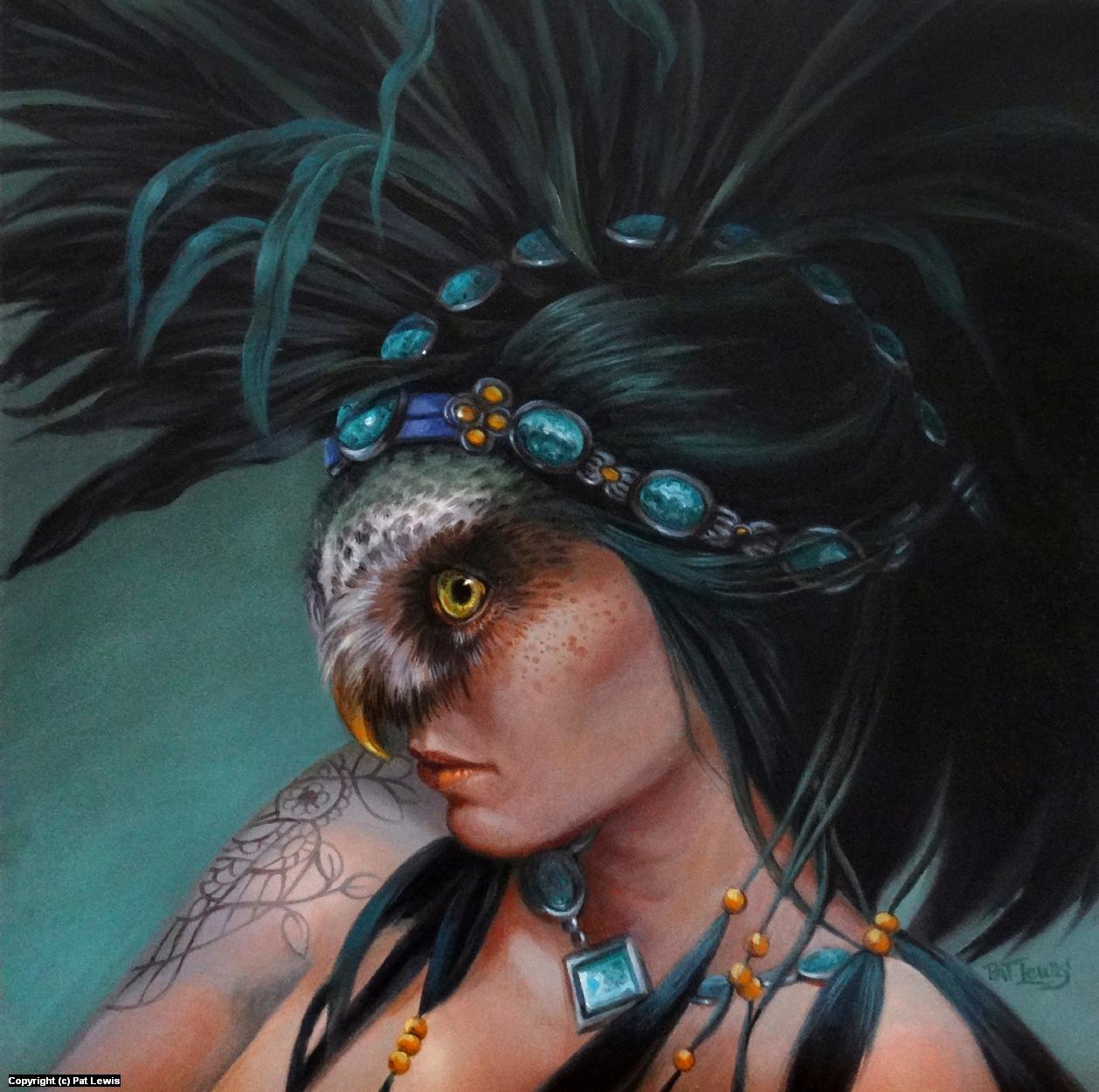 Owl Spirit Artwork by Pat morrissey-Lewis