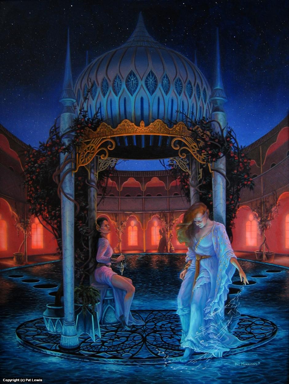 Magic Night Artwork by Pat morrissey-Lewis