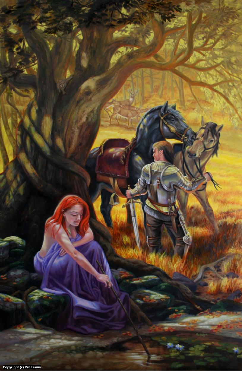 Loyal Guardian Artwork by Pat morrissey-Lewis