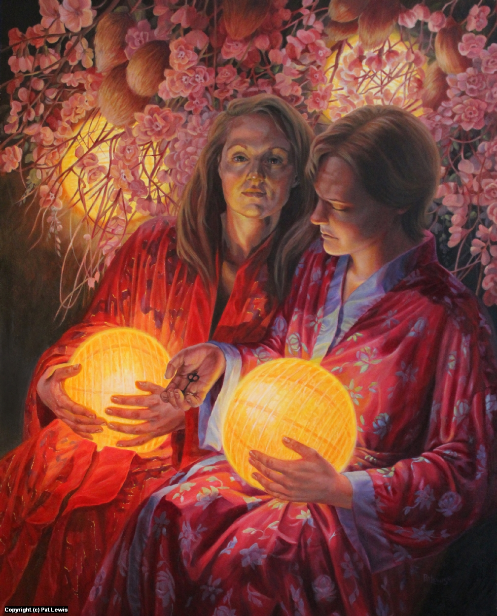 Secrets in the Garden Artwork by Pat morrissey-Lewis