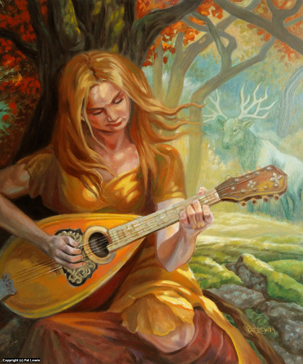 Music of the Forest Artwork by Pat morrissey-Lewis