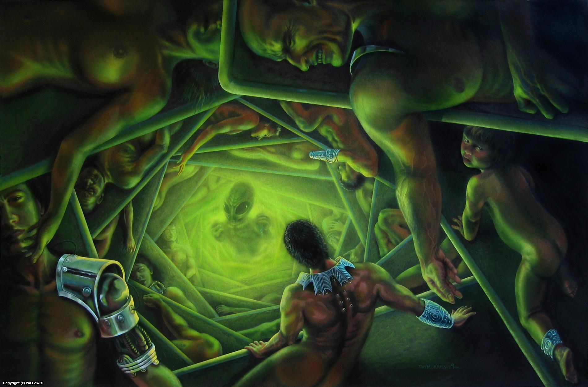One Terrible Night Artwork by Pat morrissey-Lewis