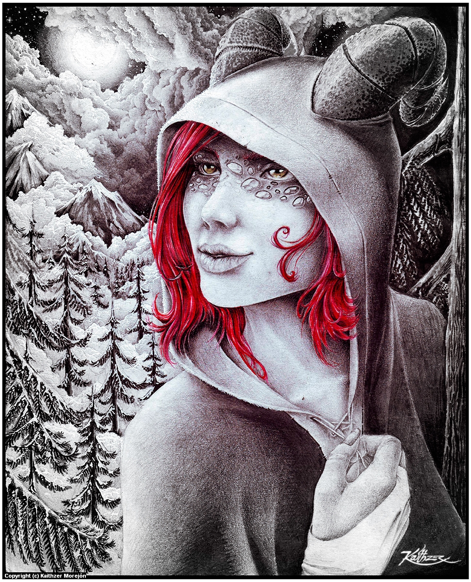 Eline-Iron Peaks Artwork by Kaithzer Morejón