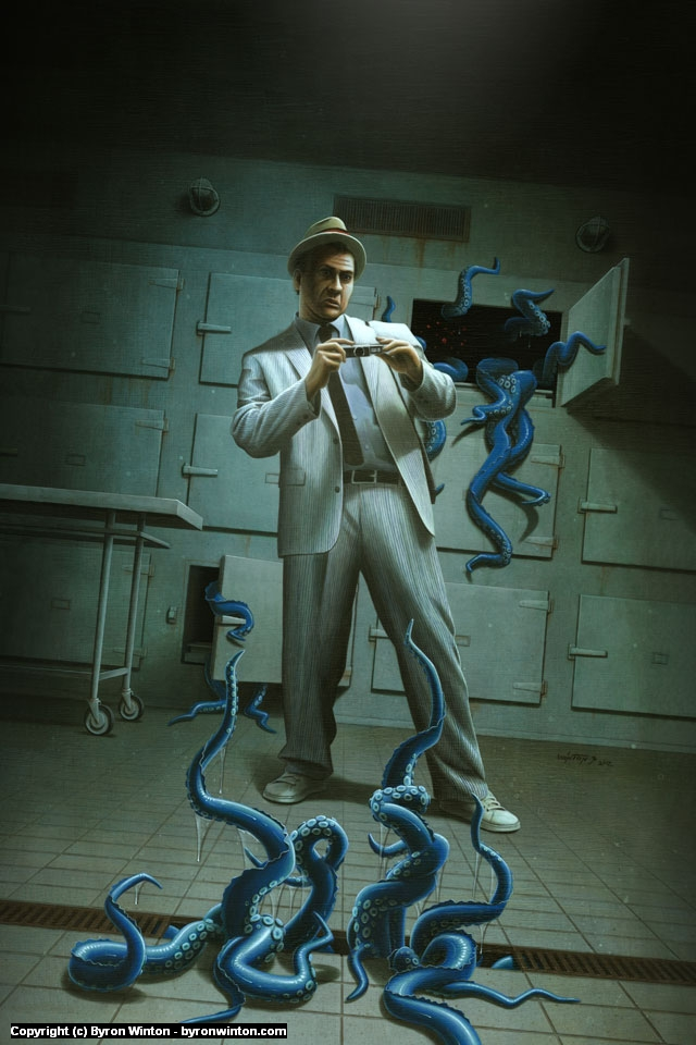 Kolchak: Paranormal Passages Artwork by Byron Winton