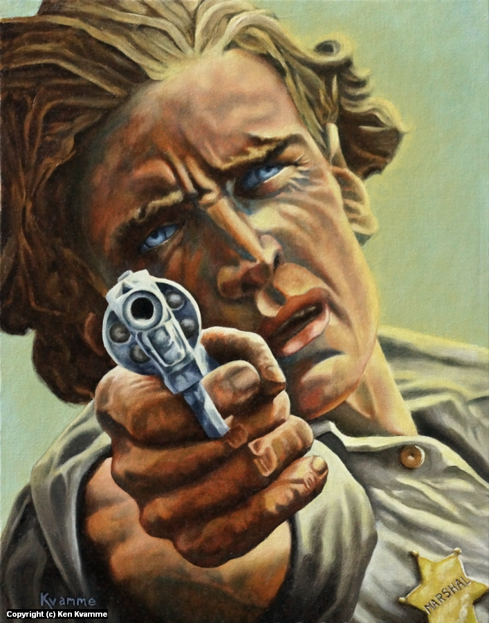 U.S. Marshal Artwork by Ken Kvamme