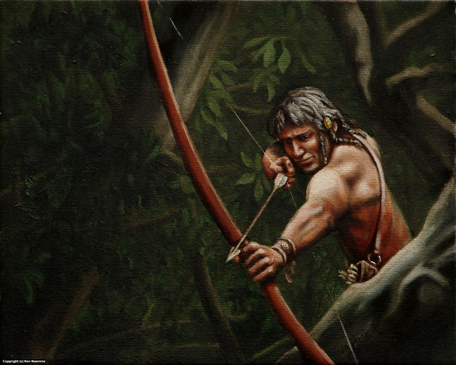Archer Artwork by Ken Kvamme