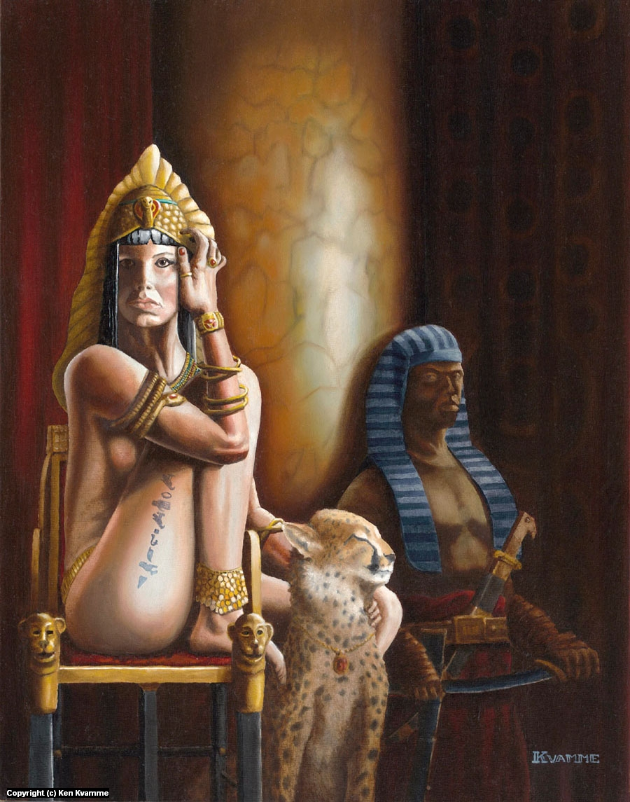Princess of the Nile Artwork by Ken Kvamme