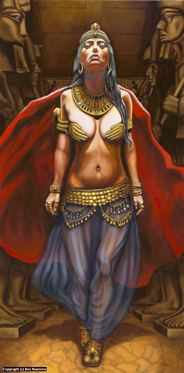 Queen of the Nile II Artwork by Ken Kvamme