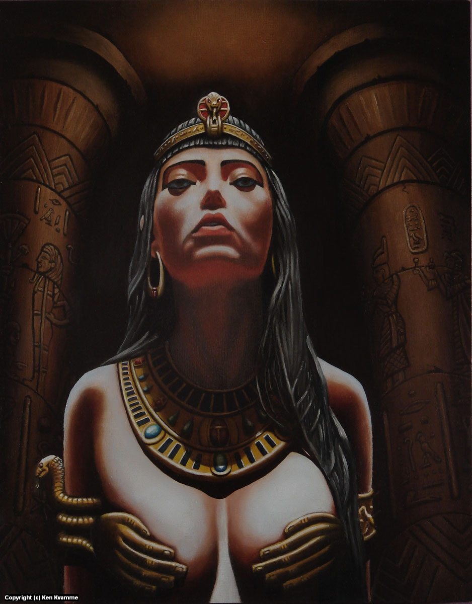 Queen of the Nile Artwork by Ken Kvamme