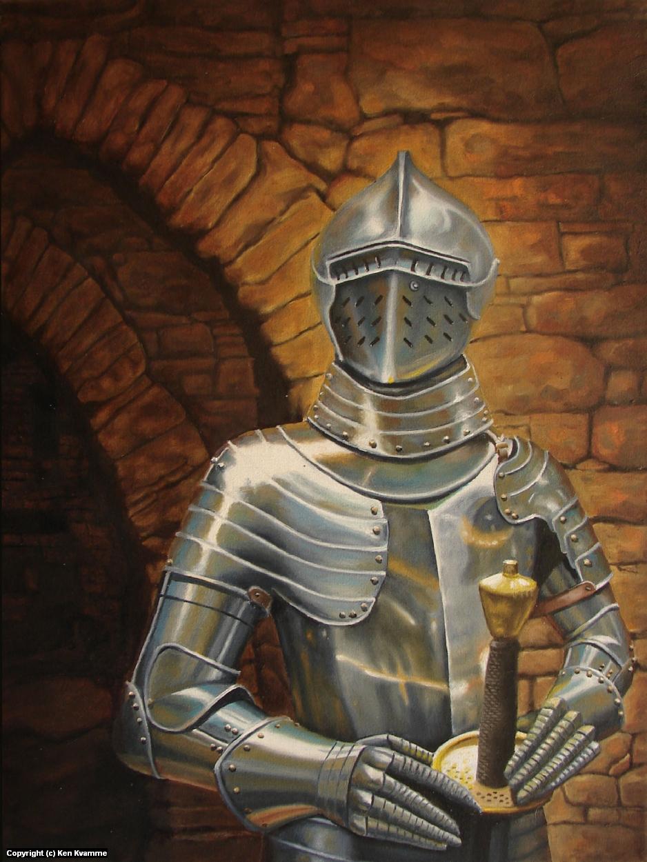Knight Artwork by Ken Kvamme