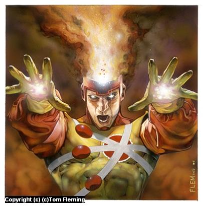 Firestorm Artwork by Tom Fleming
