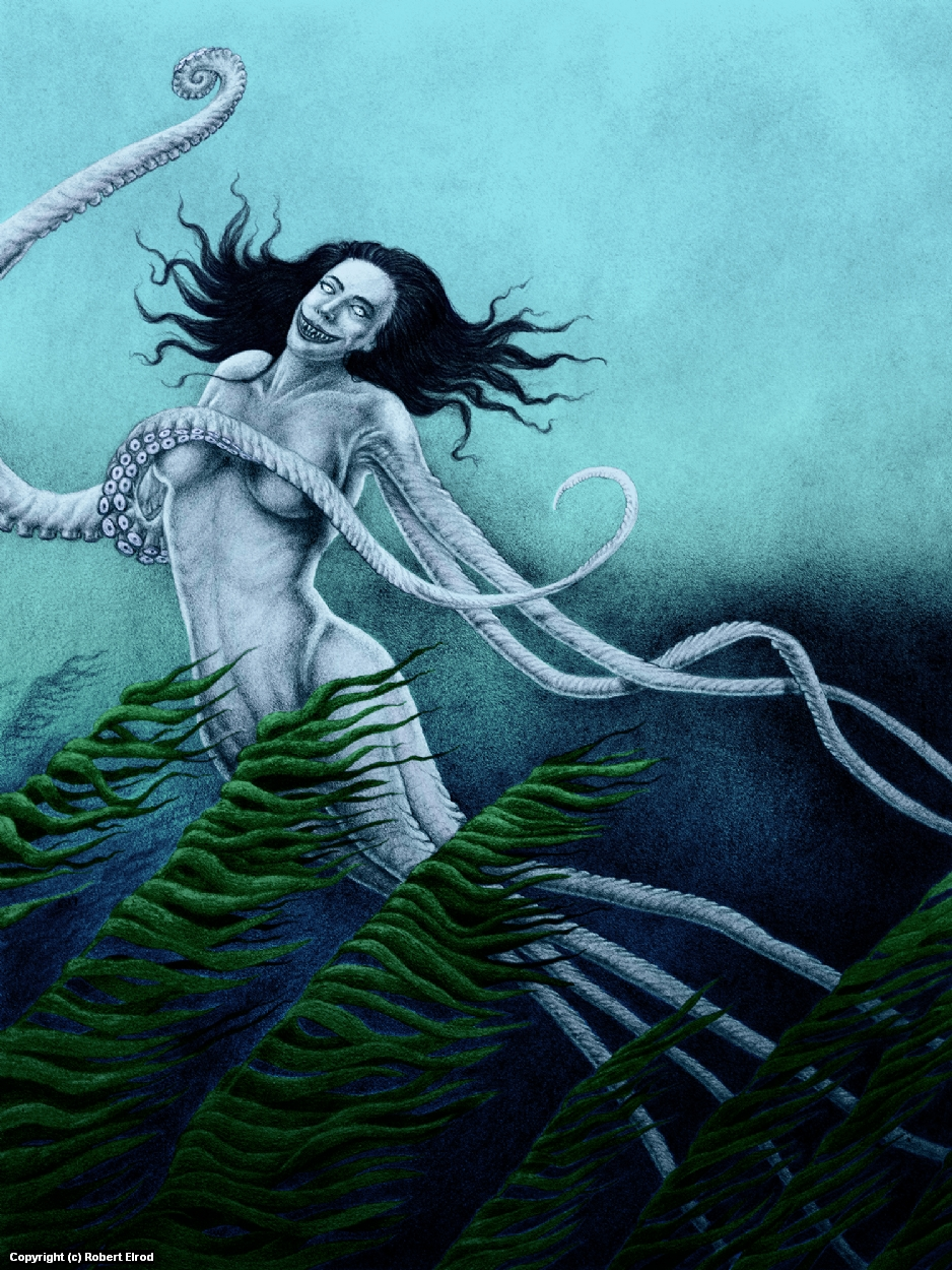 The Sea Witch Artwork by Robert Elrod