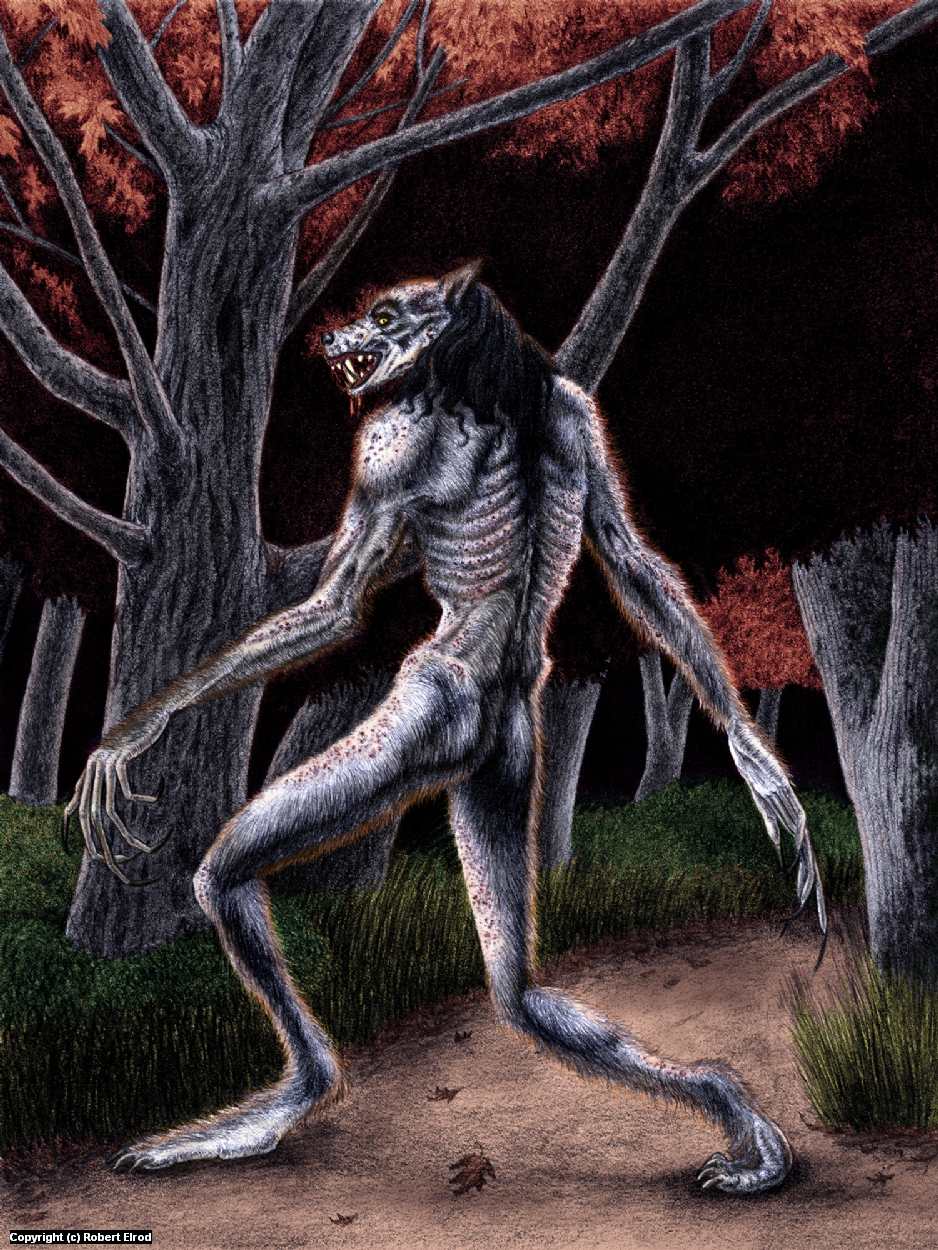 Nightmare on the Trail Artwork by Robert Elrod
