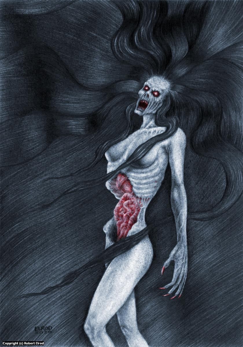 Blood Wail Artwork by Robert Elrod