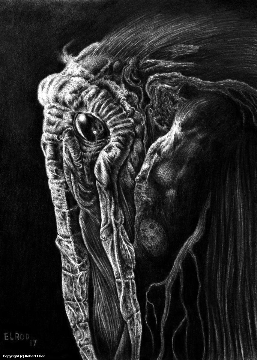 Man-Thing Artwork by Robert Elrod