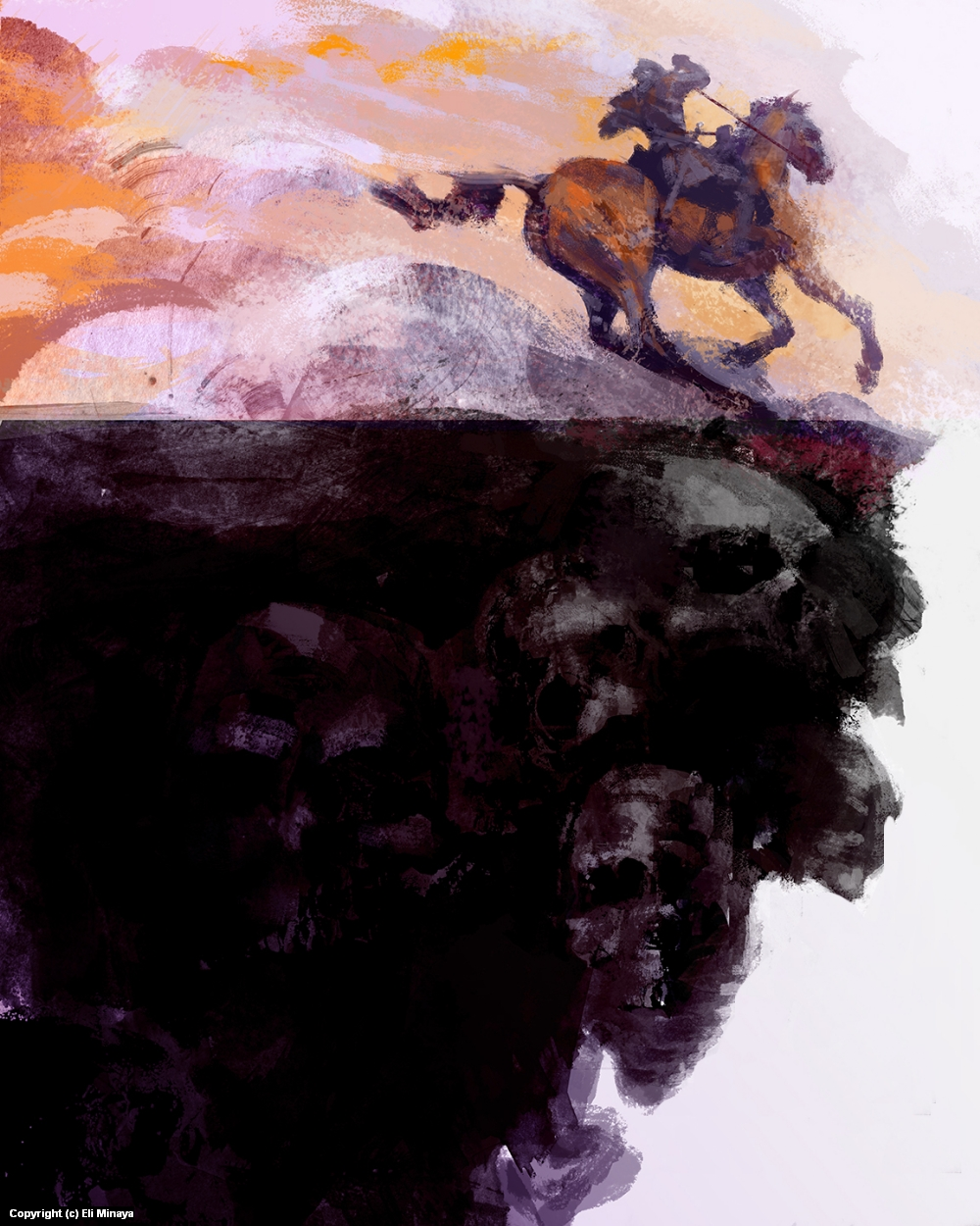The Momentum of War Artwork by Eli Minaya