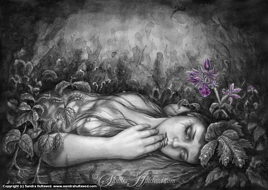 Taste of poison Artwork by Sandra Hultsved