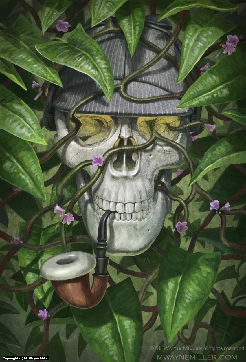 Sherlock Holmes: Lord of Damnation Artwork by Wayne Miller
