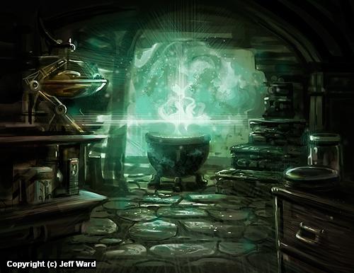 Dark Magic Artwork by Jeff Ward