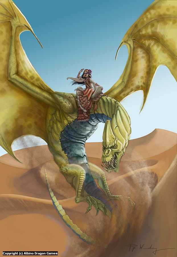 Sand Dragon Artwork by Piya Wannachaiwong