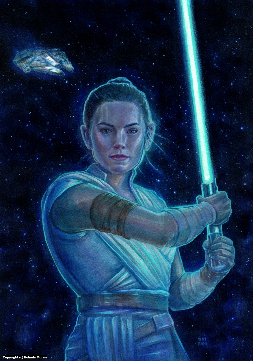 Rey Artwork by Belinda Morris
