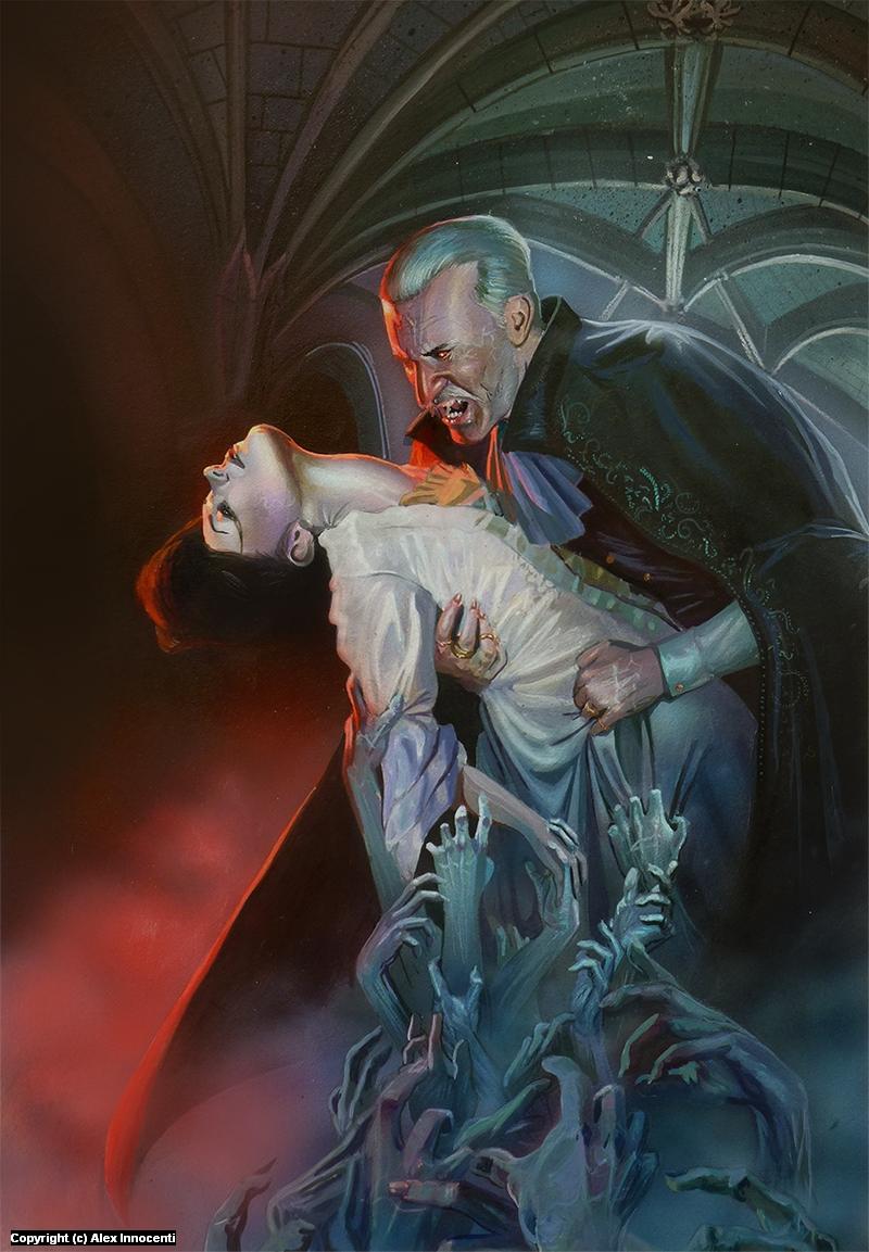 Dracula Artwork by Alex Innocenti