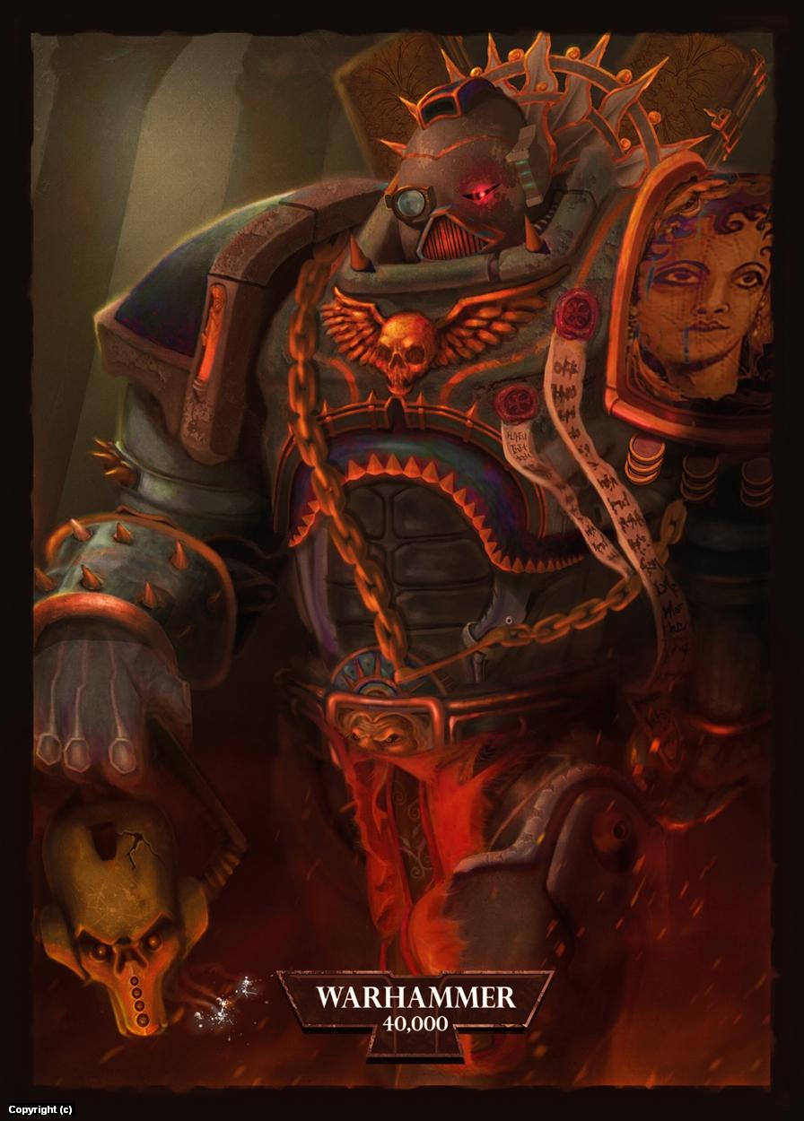 Warhammer Artwork by Edward Gonzalez