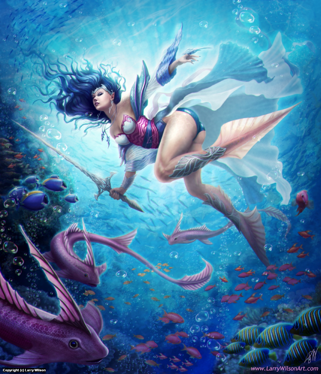 The Enchanted Depths Artwork by Larry wilson